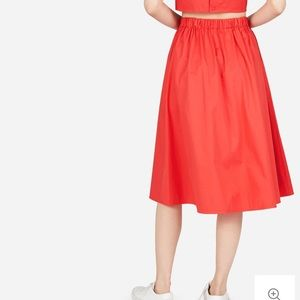 Everlane Skirt in Red, M