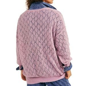 Free People Knit Tunic in Lilac, S