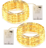 Guirnalda Luces 12M 120 LED con Pilas - 2 Pack