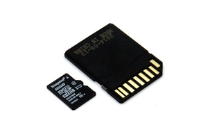 Flashed SD Card