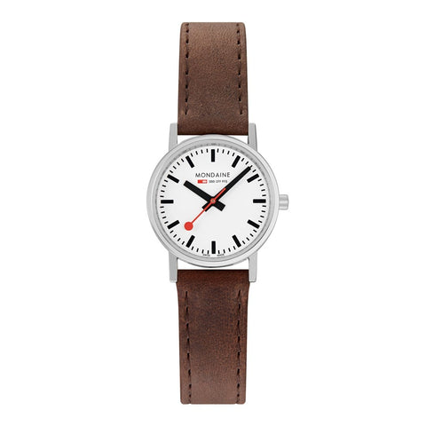 Classic, 30mm, brown leather watch, A658.30323.11SBG