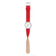 Classic, 30mm, modern red watch, A658.30323.17SBC
