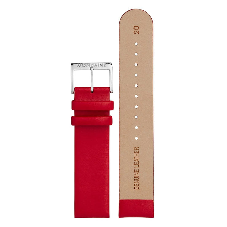 Genuine leather strap, 20mm, FEM.16220.30Q.K