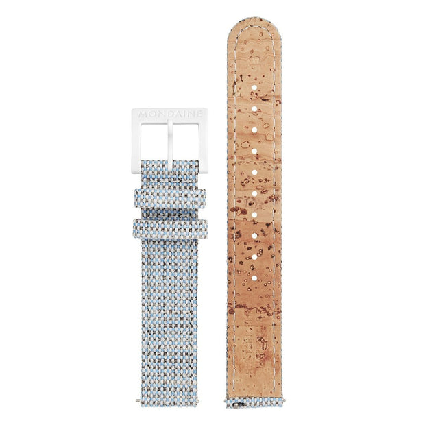 Textile strap with cork lining, 16mm, FTM.3116.40A.K