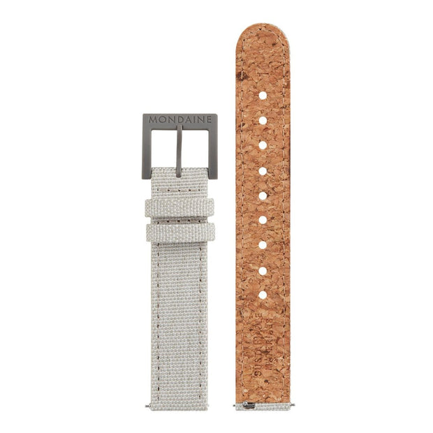 Textile strap with cork lining, 16mm, FTM.3116.80H.1.K