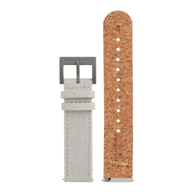 Textile strap with cork lining, 20mm, FTM.3120.80H.1.K