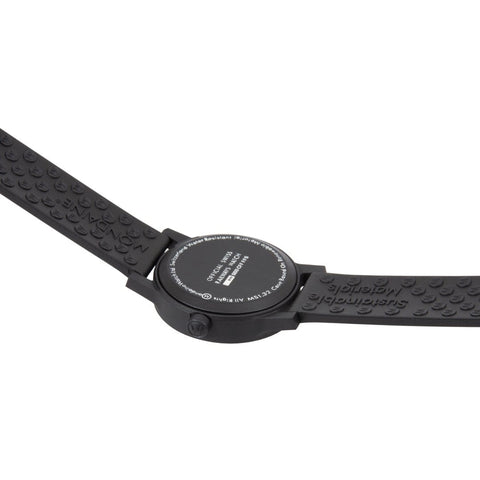 essence black, 32mm, vegan sustainable watch, MS1.32110.RB