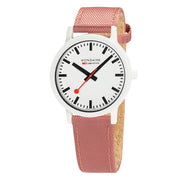 essence white, 41mm, sustainable watch for men and women, MS1.41111.LP