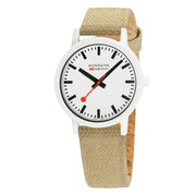 essence white, 41mm, sustainable watch for men and women, MS1.41110.LS