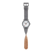 essence gray, 41mm, sustainable watch for men and women, MS1.41110.LU