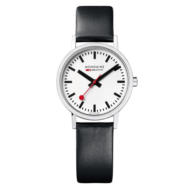 mondaine-classic-30-mm-black-leather-watch-A658-30323-11SBB,7