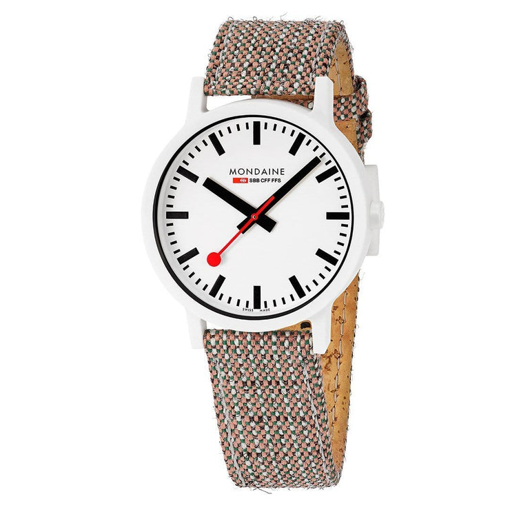 essence, 41 mm, sustainable watch for men and women, MS1.41110.LG