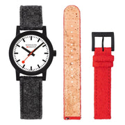 essence Set, 32 mm, sustainable watch for men and women, MS1.32110.LH.SET