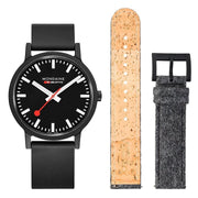 essence Set, 41 mm, sustainable watch for men and women, MS1.41120.RB.SET