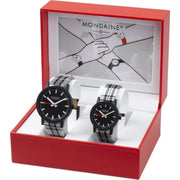 essence set, 32 and 41 mm, his and her sustainable watches,1