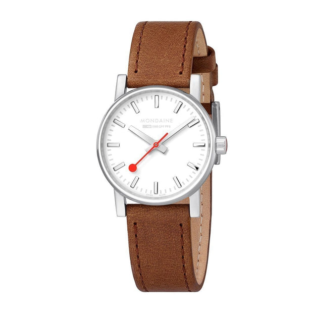 evo2, 30 mm, casual leather watch for women, MSE.30110.LG