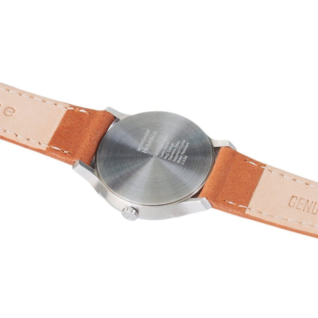 Helvetica Light, 26 mm, minimalist leather watch, MH1.L1110.LG,2