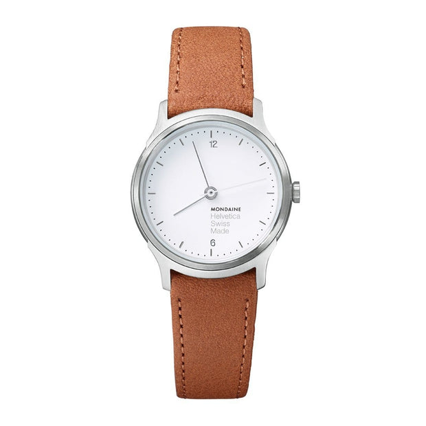 Helvetica Light, 26 mm, minimalist leather watch, MH1.L1110.LG,4