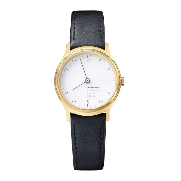 Helvetica Light, 26 mm, minimalist leather watch, MH1.L1111.LB,4