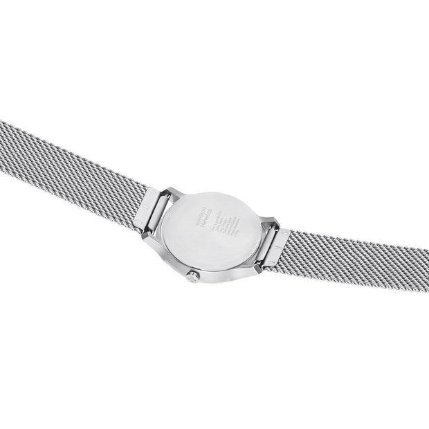 Helvetica Light, 26 mm, minimalist stainless steel watch, MH1.L1110.SM,2