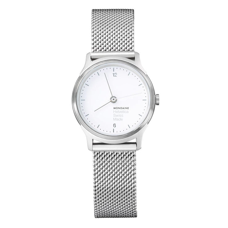 Helvetica Light, 26 mm, minimalist stainless steel watch, MH1.L1110.SM,4