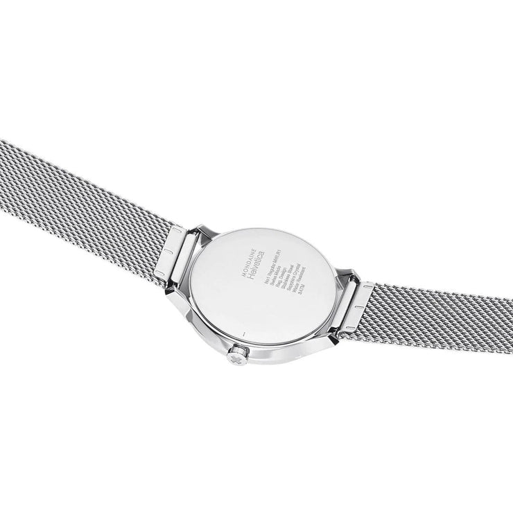 Helvetica Regular, 33 mm, stainless steel watch, MH1.R1210.SM,4