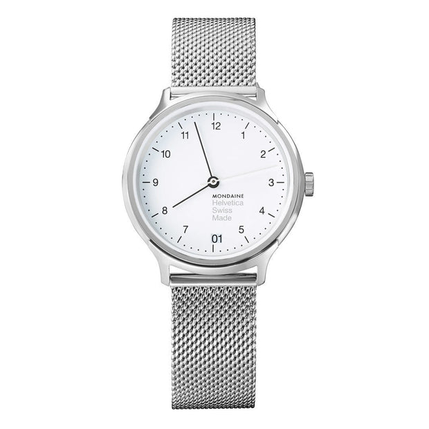 Helvetica Regular, 33 mm, stainless steel watch, MH1.R1210.SM,1
