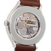 Helvetica Regular, 40 mm, brown leather watch, MH1.R3610.LG,3