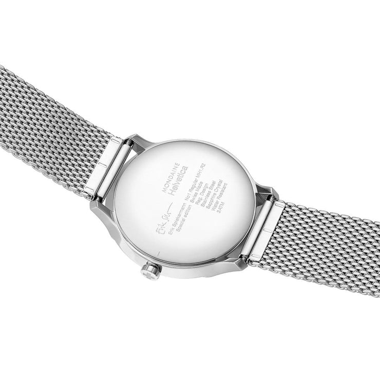 Helvetica Regular, 40 mm, stainless steel watch, MH1.R2211.SM,3