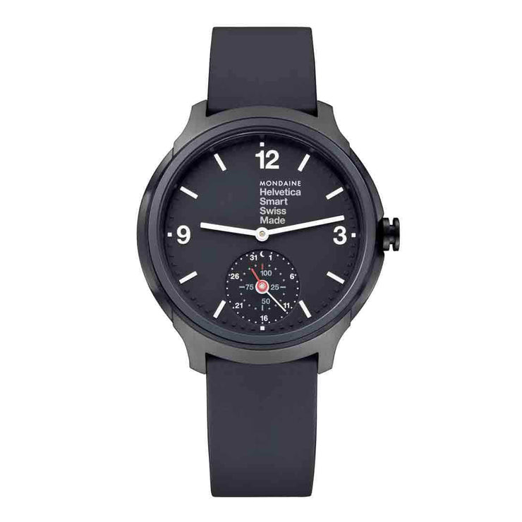 Helvetica Smartwatch, 44 mm, casual black watch, MH1.B2S20.RB,4