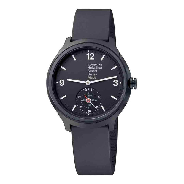 Helvetica Smartwatch, 44 mm, casual black watch, MH1.B2S20.RB