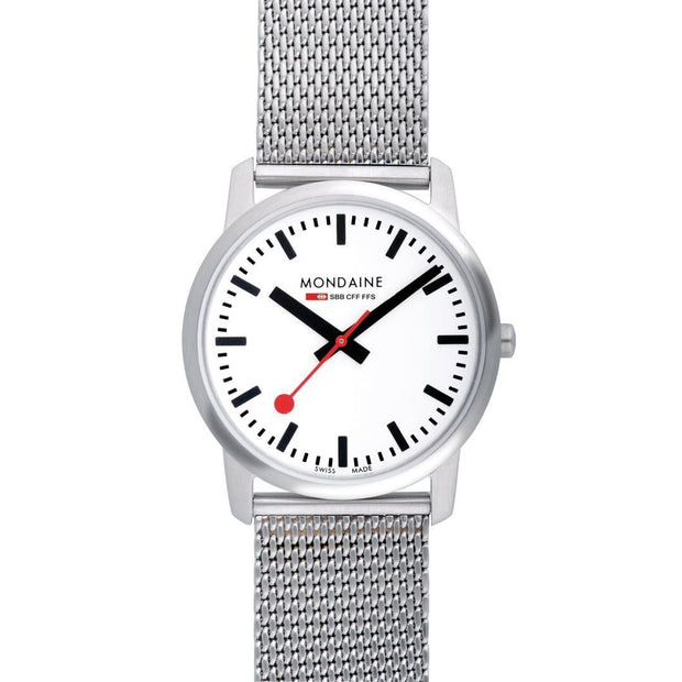 Simply Elegant, 36 mm, stainless steel watch, A400.30351.16SBM