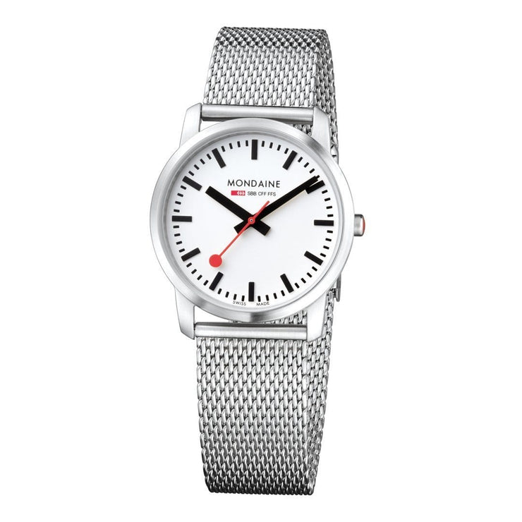 Simply Elegant, 36 mm, stainless steel watch, A400.30351.16SBM,2