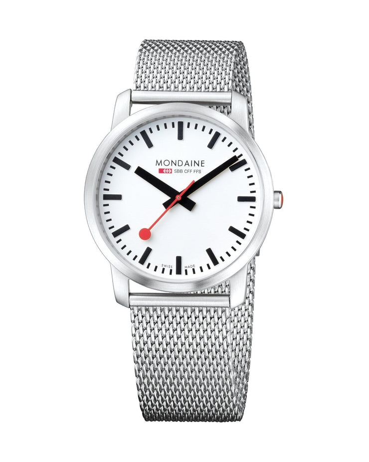 Simply Elegant, 41 mm, stainless steel watch, A638.30350.16SBM