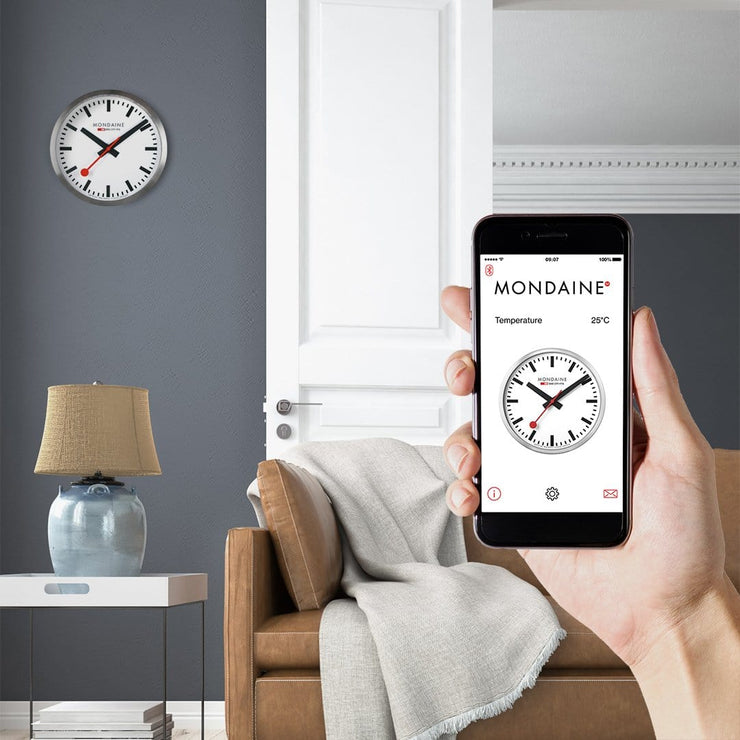 Smart wall clock, Stop2Go, 25 cm, MSM.25S10,2