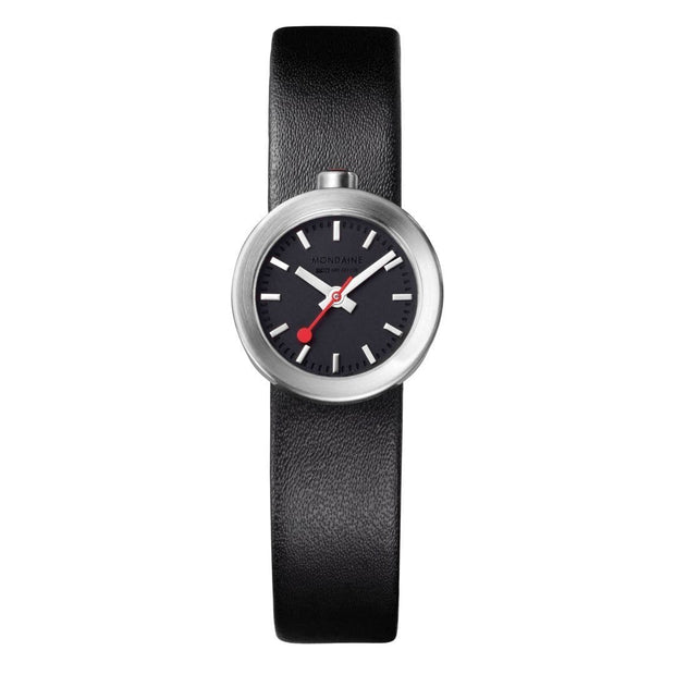 Specials, 22 mm, black leather watch, A666.30324.14SBB,4