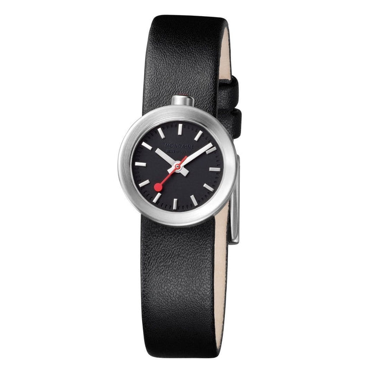 Specials, 22 mm, black leather watch, A666.30324.14SBB