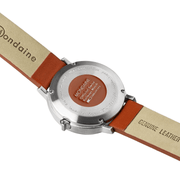 Stop2Go, 41 mm, red leather watch, MST.4101B.LC,1