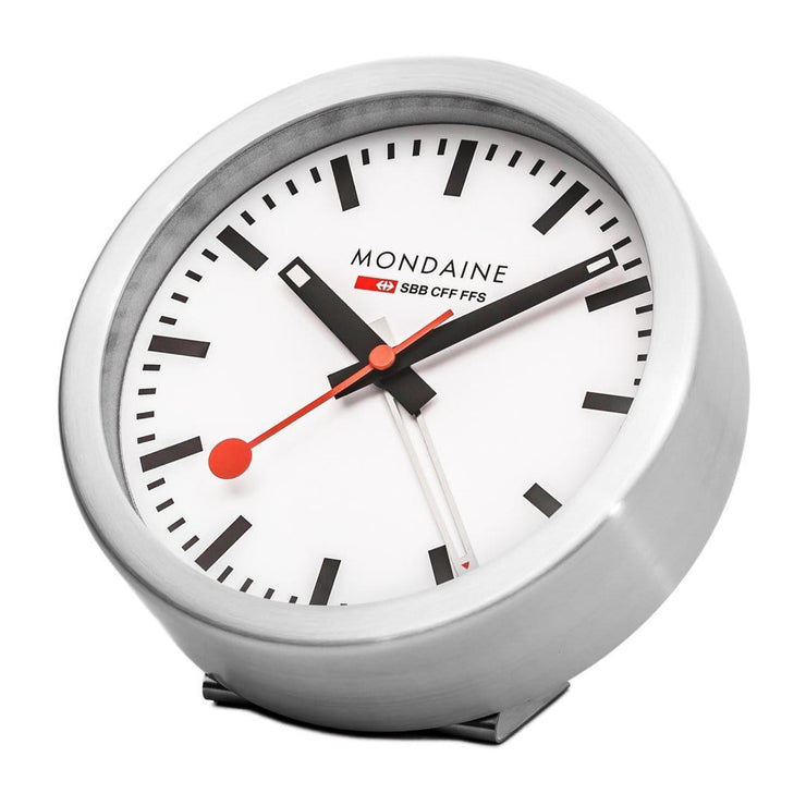 Table clock, 125 mm, travel alarm, A997.MCAL.16SBB,1