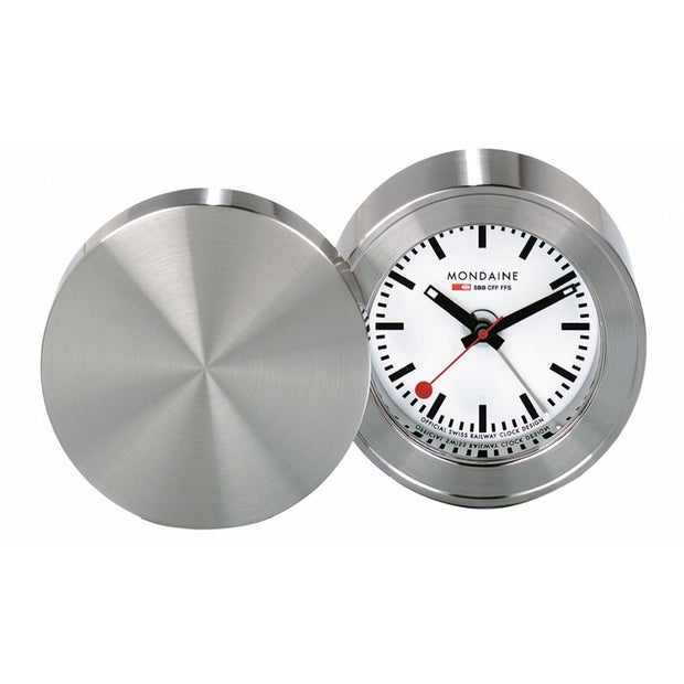 Table clock, travel alarm, 50 mm, MSM.64410