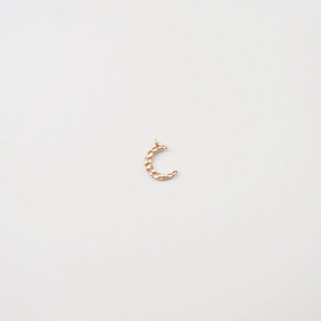 Hammered Crescent Moon