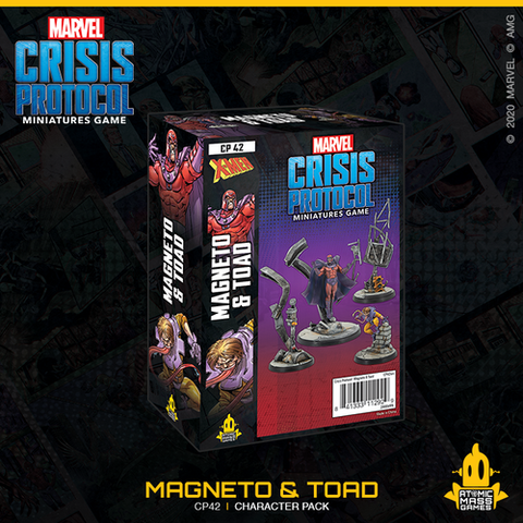 Marvel Crisis Protocol: Magneto & Toad Character Pack (2020/11/13)