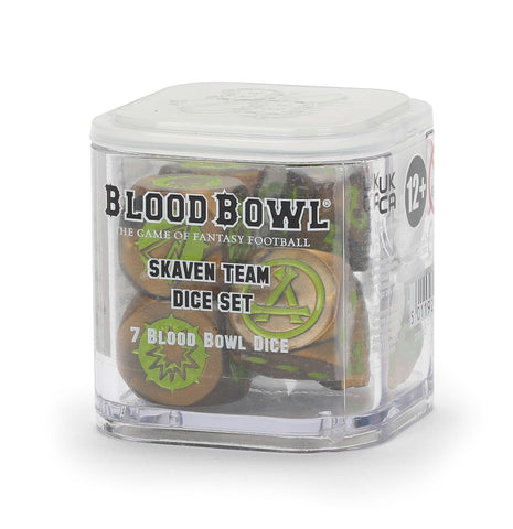 BLOOD BOWL: SKAVEN TEAM DICE SET 19-Dec-20