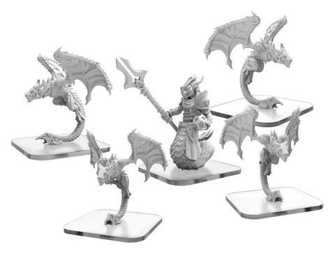 MONSTERPOCALYPSE STALKER/DRAKEN MYSTIC ARMADA UNIT