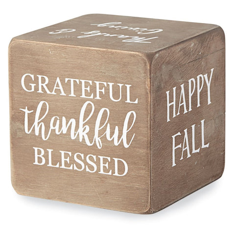 Thanksgiving Sentiment Block