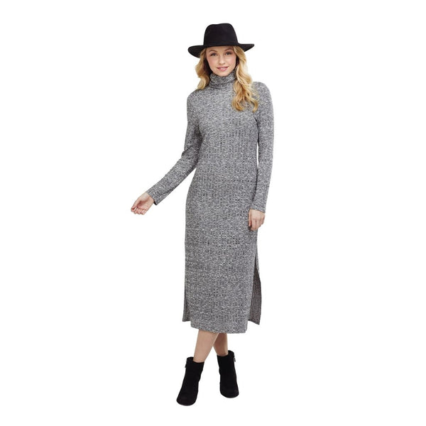 Frankie Midi Dress Gray