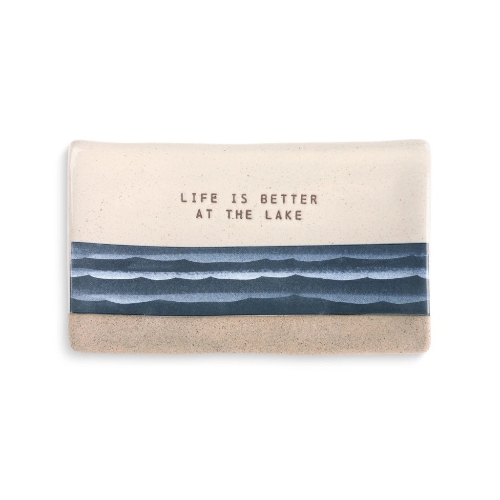 Life is Better at the Lake Trinket Tray