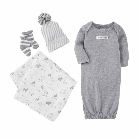Take Me Home Gray Newborn Set