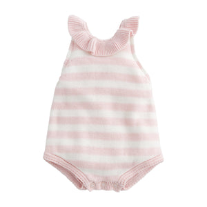 Pink Stripe Baby Bubble