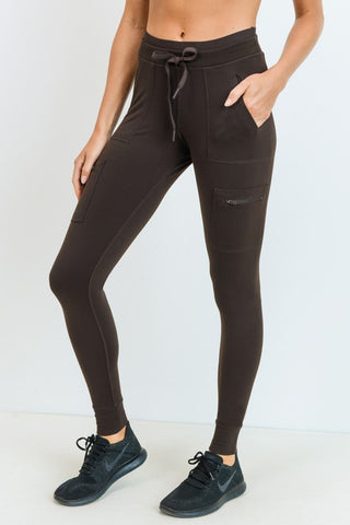 Skinny Cargo Hybrid Full Leggings